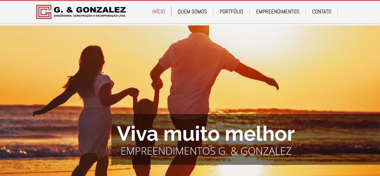 Criação do Site G&Gonzalez