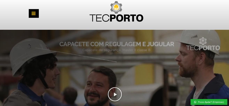 Site criado para empresa de EPI